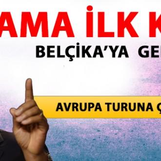 OBAMA İLK KEZ BELÇİKA'YA GELİYOR!