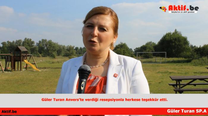 GÜLER TURAN SEÇİM ZAFERİNİ KUTLADI(VİDEO)