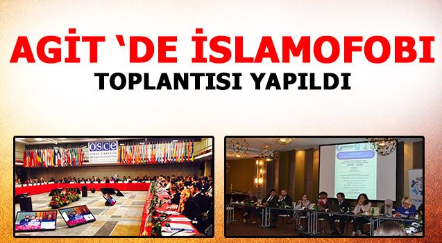 AGIT 'DE ISLAMOFOBI TOPLANTISI YAPILDI