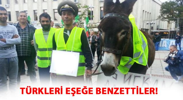 TÜRKLERİ EŞEĞE BENZETTİLER!