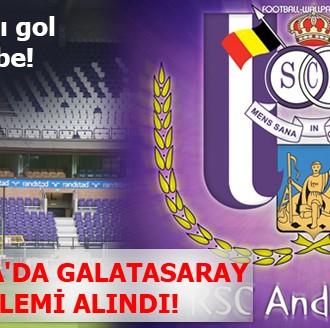BELÇİKA'DA ÖZEL G.SARAY ÖNLEMİ ALINDI!