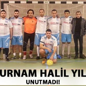 FC TURNAM HALİL YILDIZI UNUTMADI!