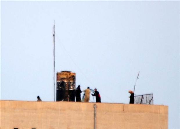 IŞİD Türkiye sınırında telsiz istasyonu kurdu