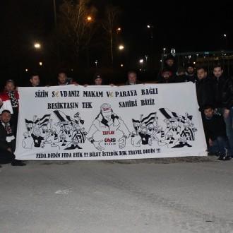Maç sonrası yaşananlara karşı sitem eden Beşiktaşlılar!