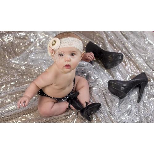 Bebekler için topuklu ayakkabı