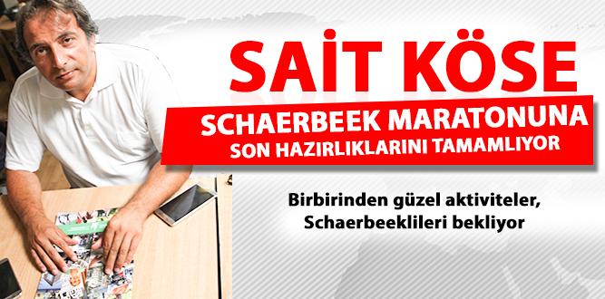 SCHAERBEEK MARATONU SON HAZIRLIKLARINI TAMAMLADI