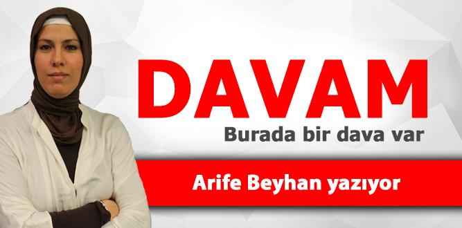 DAVAM – Arife Beyhan