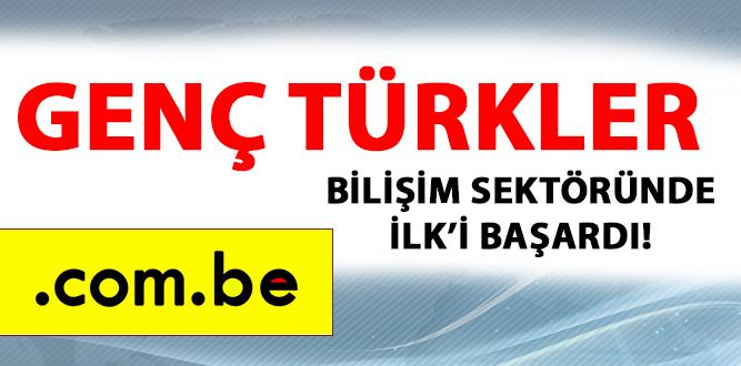 GENÇ TÜRKLER BİLİŞİM SEKTÖRÜNDE İLK'İ BAŞARDI!