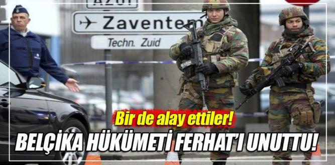 Belçika hükümeti terör mağduru Türk'ü görmezden geldi!