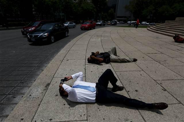 Meksikalıları şaşırtan görüntü