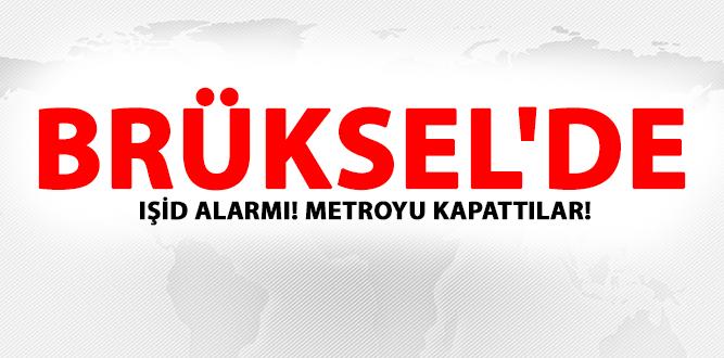 Photo of BRÜKSEL'DE IŞİD ALARMI! METROYU KAPATTILAR!