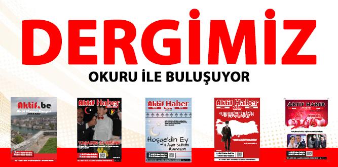 Photo of AKTİF HABER BELÇİKA DERGİSİ OKURU İLE BULUŞUYOR