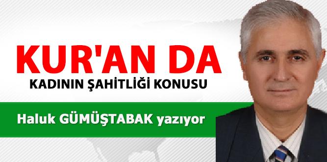 Photo of KUR'AN DA KADININ ŞAHİTLİĞİ KONUSU