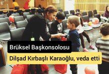 Photo of T.C Brüksel Başkonsolosu Dilşad Kırbaşlı Karaoğlu, veda etti