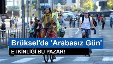 """Photo of Brüksel'de """"arabasız"""" gün bu Pazar"""
